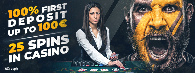 €1000 Casino Welcome Bonus!!!