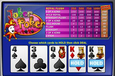 Joker Poker(1 hand)