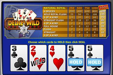 Deuces Wild(1 hand)