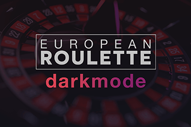 European Roulette Dark Mode