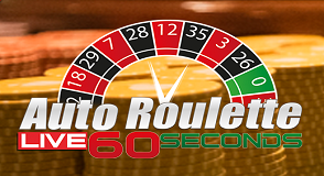 Auto Roulette Live 60 seconds
