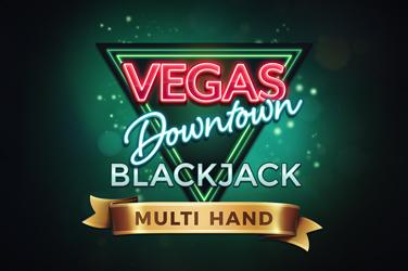 Multihand Vegas Downtown Blackjack