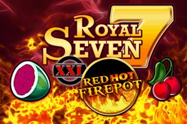 Royal Seven XXL Red Hot Firepot