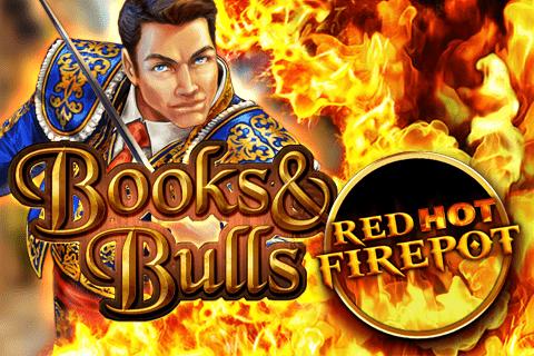 Books & Bulls Red Hot Firepot Casino Slot
